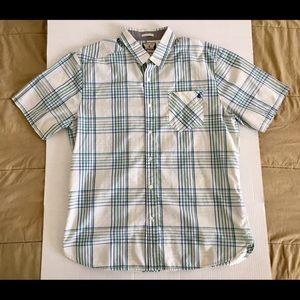Volcom Corpo Class Classic Sk8 Casual Shirt Sz XL